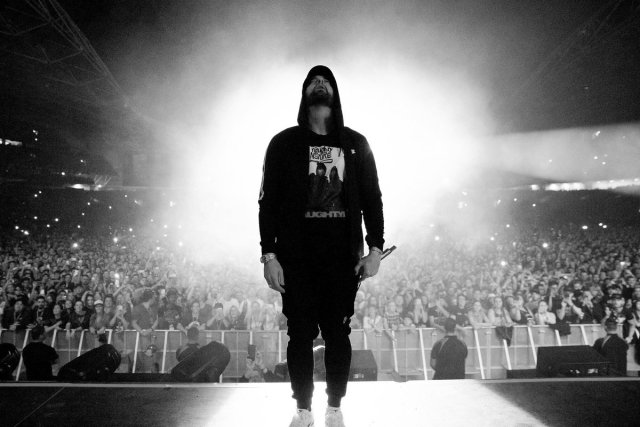 WATCH: Eminem performing fast parts of his songs proves he's technically better than ever !