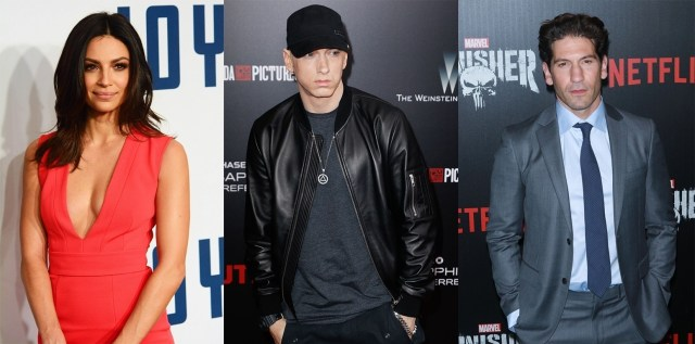 """""""The Punisher"""" cast react to Eminem's support of their show"""
