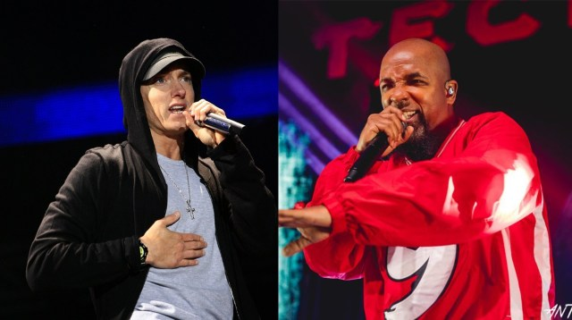 Has Tech N9ne just teased a title of the new song with Eminem ?