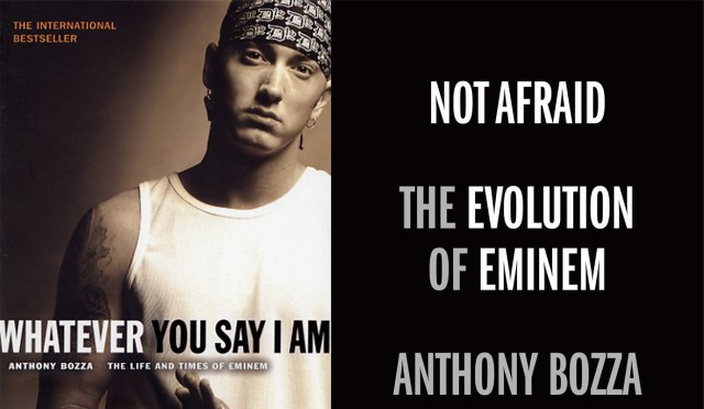 """New Eminem biography book """"Not Afraid: The Evolution of Eminem"""" comings this year!"""