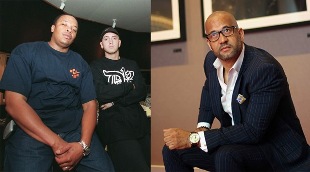 """Pierre: """"When I met Eminem I thought he was wack white rapper but then he blew up"""""""