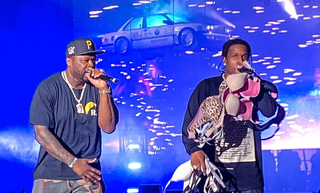 WATCH: A$AP Rocky brings out 50 Cent at Rolling Loud 2019
