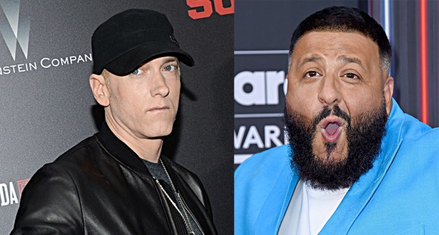 DJ Khaled shares his reaction when Fat Joe played him Eminem song from his new album