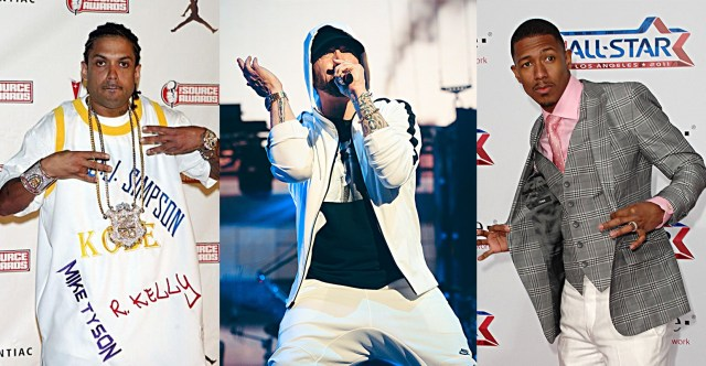 """Benzino weighs in Eminem & Nick Cannon beef: """"That song with Fat Joe is garbage"""""""