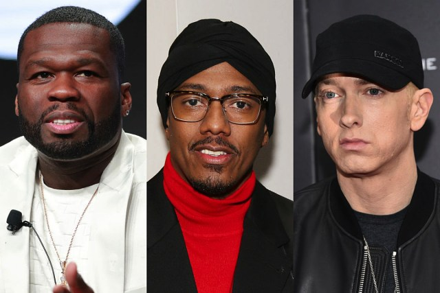 New Interview: 50 Cent says he advised Eminem to not respond to Nick Cannon