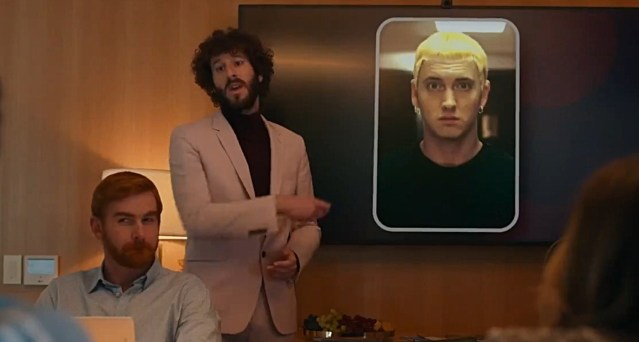 """Lil Dicky references Eminem on the latest episode of """"Dave"""" TV show"""