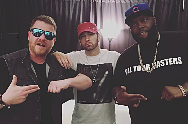 Eminem shouts out Killer Mike who delivered emotional speech to Atlanta protestors