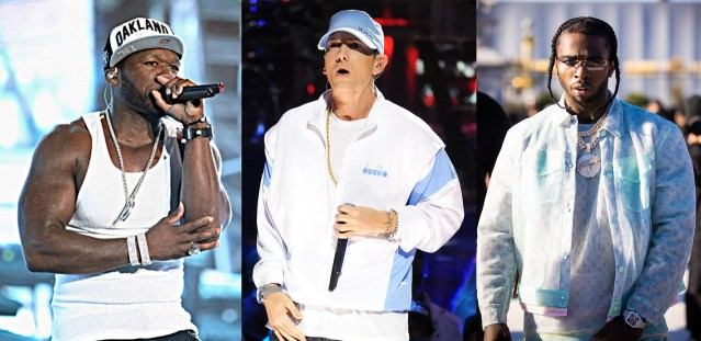 50 Cent teases possible Eminem collaboration on Pop Smoke new album