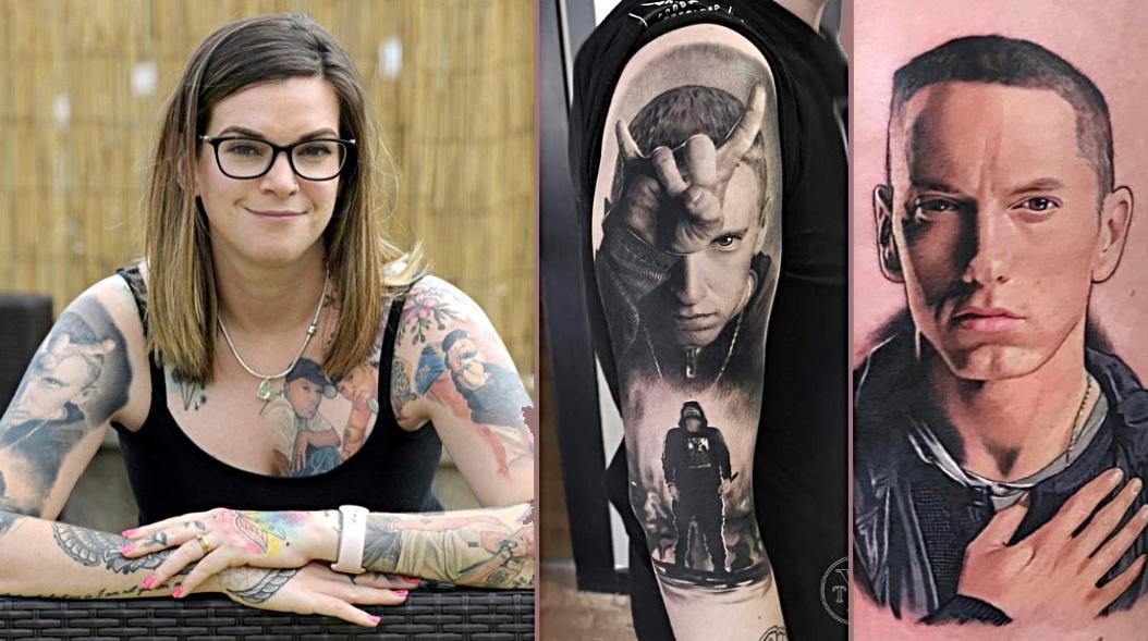 woman-eminem-tattoos-guinness-world-record