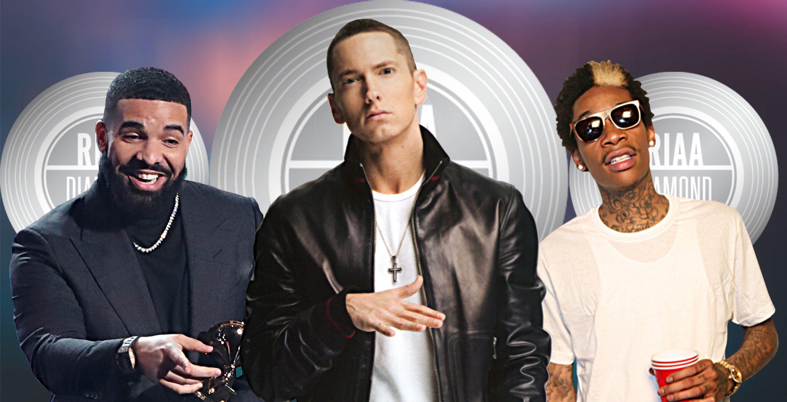 diamond-certified-hip-hop-songs-eminem-drake-wiz-khalifa-more