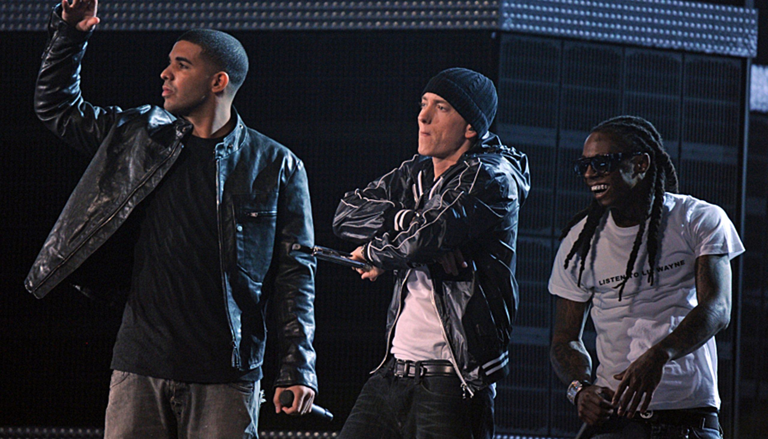 biggest-selling-rappers-of-all-time-eminem-drake-lil-wayne
