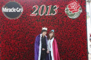 Miracle-Gro at the Rose Parade