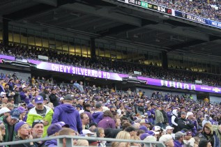Chevy Ribbon Ad at UW Football