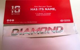 Toyota Name Badge Fulfillment