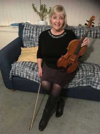 Trish Jolley - viola