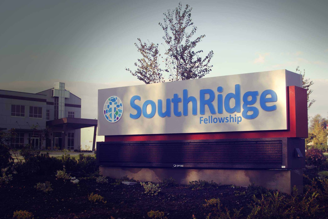 SouthRidge Welcome Sign