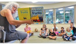 Library Storytime is one of the best indoor activities for kids in South Surrey White Rock