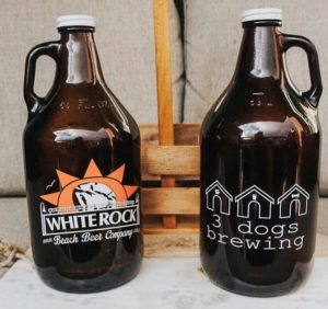 Craft beer Valentine's Day gift ideas in south surrey white rock from 3 dogs brewing and white rock beach beer