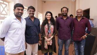 Aandavan Kattalai Movie Pooja Stills