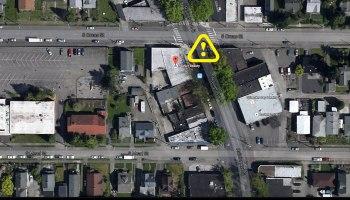 Car Crash on Rainier Ave