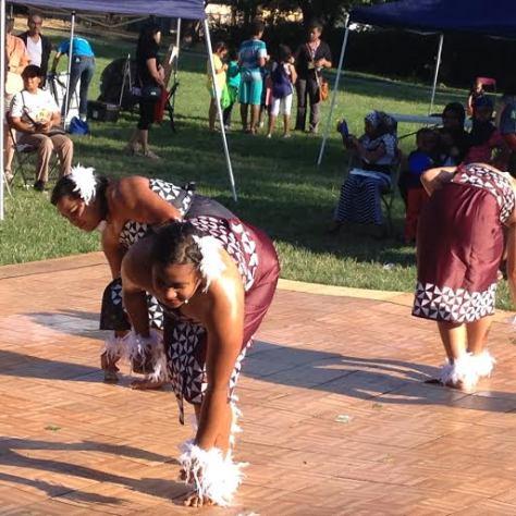 Tonga dancers perform. Photo Credit: Reagan Jackson