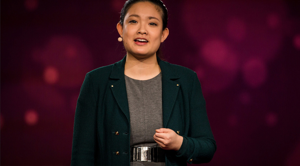 Amanda Nguyen speaks at TED2016 - Dream, February 15-19, 2016, Vancouver Convention Center, Vancouver, Canada. (Photo by Ryan Lash / TED, licensed under CC BY-NC 2.0)