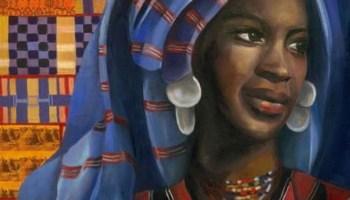 Nana Asma'u - Portrait by Heba Amin www.hebaamin.com