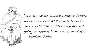 Vandana Shiva - Revolutionary Women
