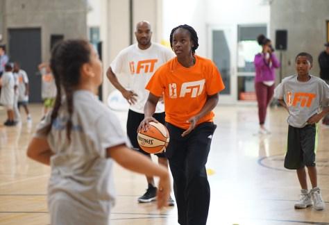 WNBA All star kids camp 2-1