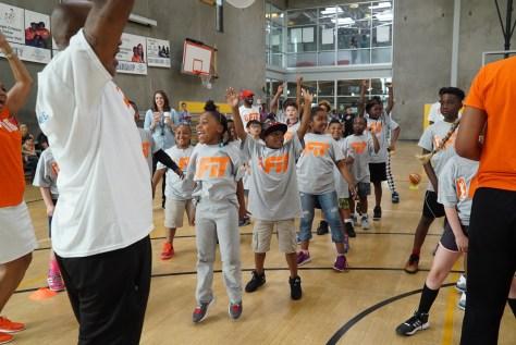 WNBA All star kids camp 3-1