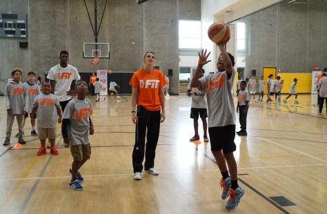 WNBA All star kids camp 9-1
