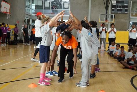 WNBA All star Sugar Rodgers NY Liberty
