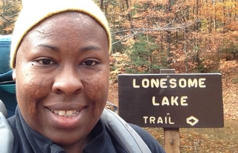 Vermont Chevon Lonesome Lake Sign