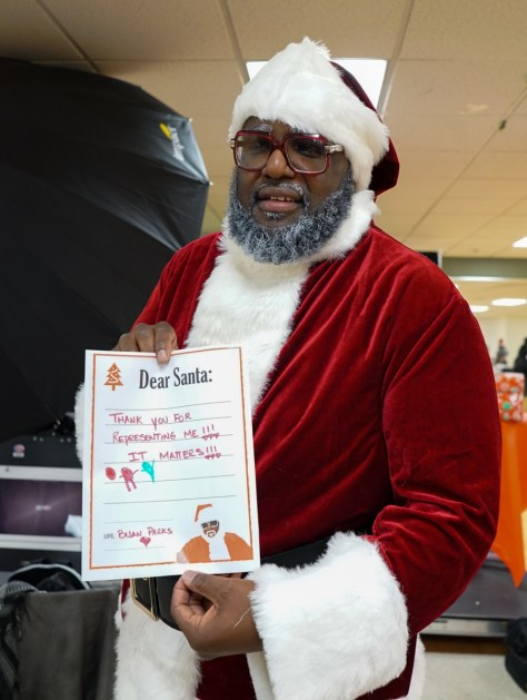Santa -Langston 8-NOTE