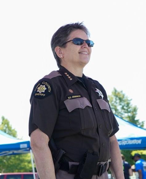 Women - Mitzi king county sheriff