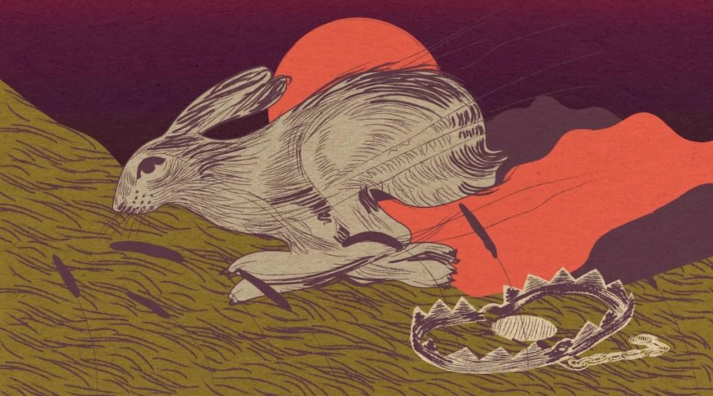 Rabbit Illustration by Alexa Strabuk 譚文曠