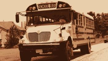 Featured image: school bus Feature image attributed to ThoseGuys119 under a Creative Commons license; image transformation by Emerald staff.