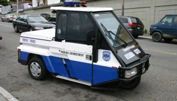 Photo of Seattle Parking Enforcement vehicle