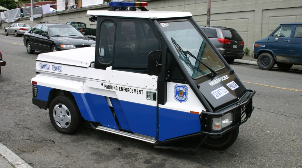 Photo of Seattle Parking Enforcement vehicle
