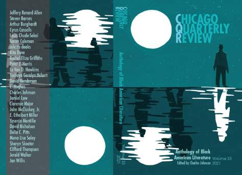 """Cover matter for the """"Chicago Quarterly Review: Anthology of Black American Literature."""""""