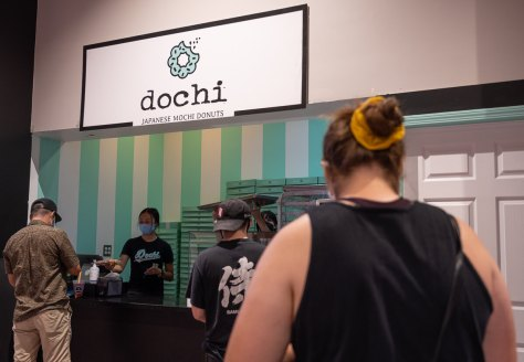 Photo of Dochi's storefront inside Uwajimaya.