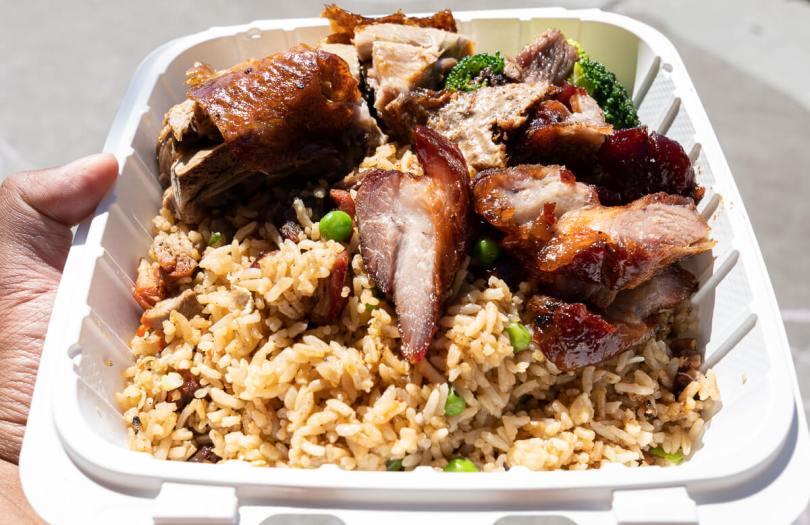 Food item from Kau Kau Restaurant.
