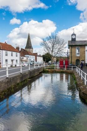 Street View of Stockbridge in Hampshire