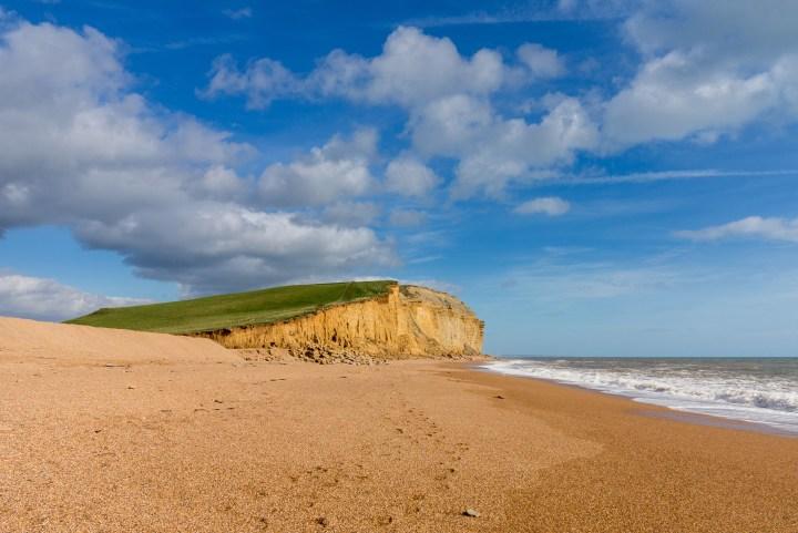 Jurassic Cliffs at West Bay Dorset in UK