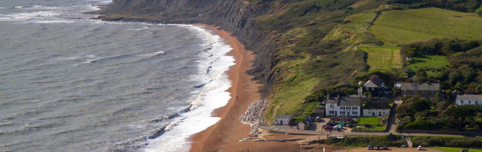 Seatown beach Dorset