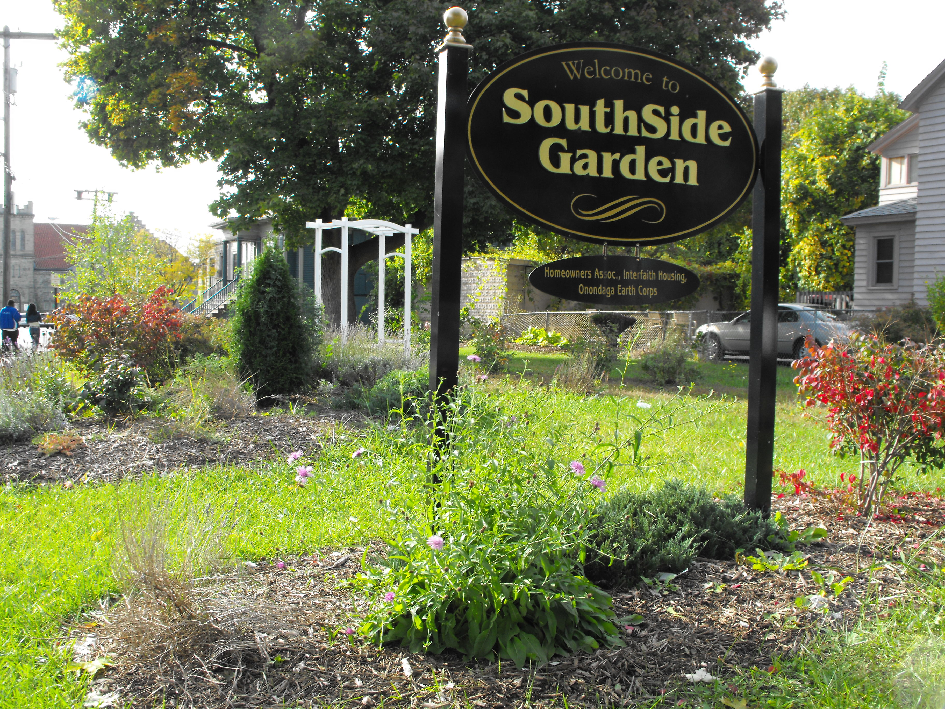 SouthSide Garden at Colvin and State Streets