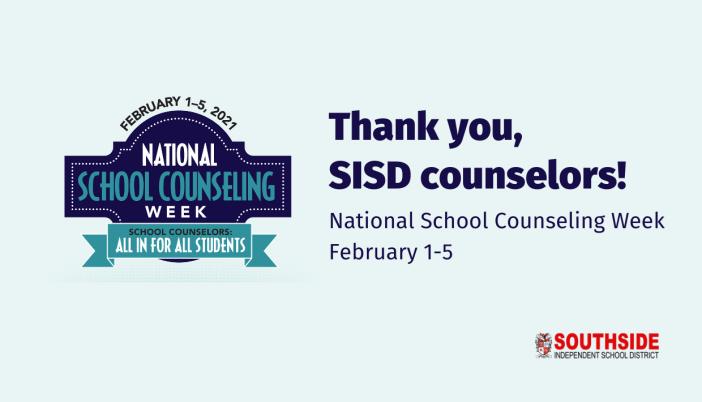 National School Counseling Week - February 1-5