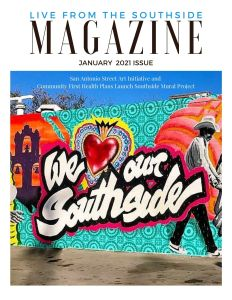 Book Cover: Live from the Southside Magazine, Issue 6