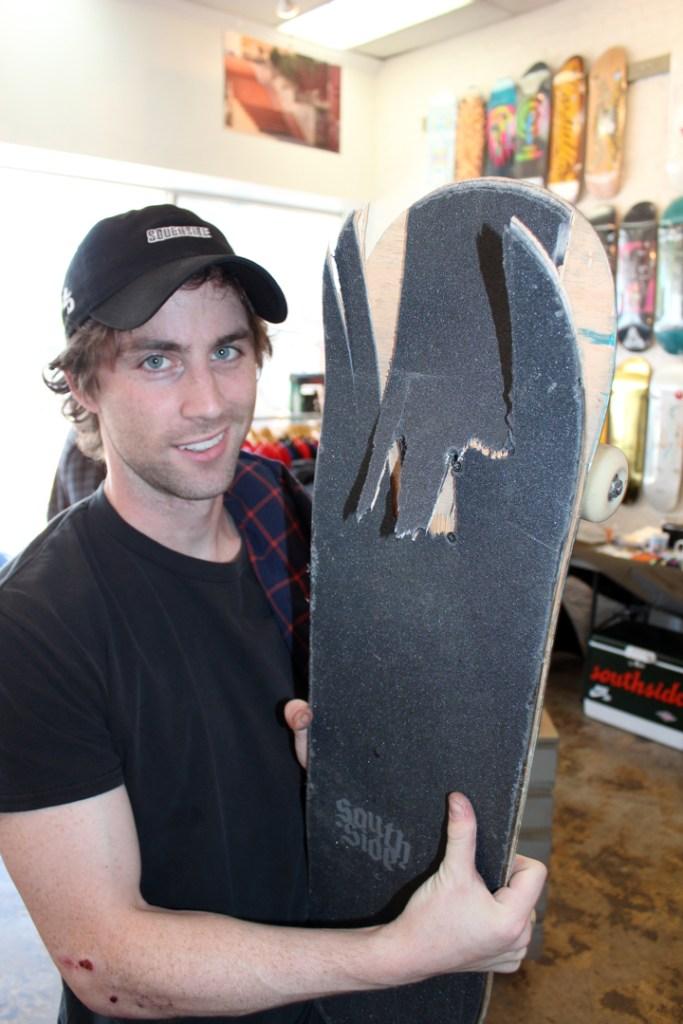 southside-skateshop-new-era-recap brunch-jack-bevevino-broken-deck.-photo-eric-visentin