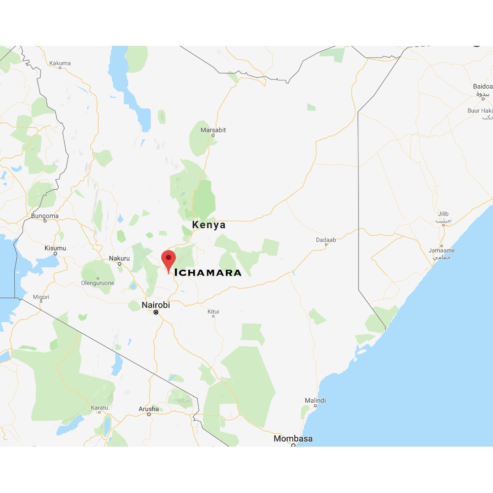 map-ichamara-kenya
